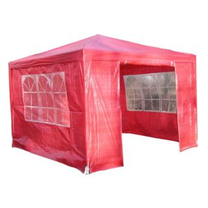 Airwave Party Tent, 3x3, Red Colour: Red