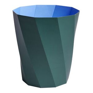 Paper Paper Wastepaper basket - / Recycled paper - Ø 28 x H 30.5 cm by Hay Green