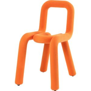 Bold Padded chair - Fabric by Moustache Orange
