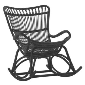 Monet Rocking chair by Sika Design Black