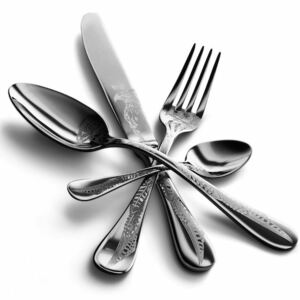 CACCIA CUTLERY SET 24 - Polished stainless steel