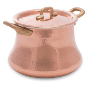 COPPER BEANPOT WITH LID