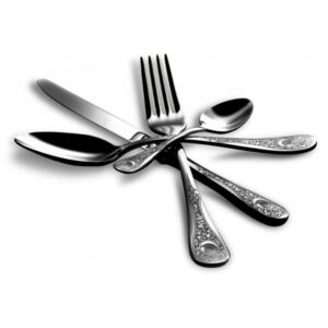 DIANA CUTLERY SET 24 - Polished stainless steel