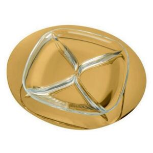 DUE ICE ORO HORS D'OEVRE TRAY