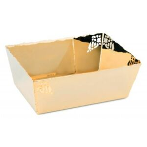 GOLD-PLATED BASKET