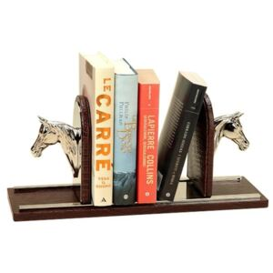 HORSE BOOKENDS THESIUS BROWN