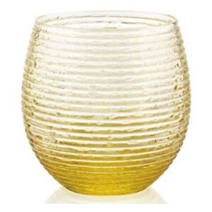 MULTICOLOR SET OF 6 WATER GLASSES - Yellow