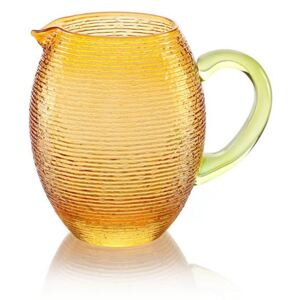 MULTICOLOR PITCHER - Amber