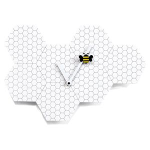 TIME2BEE WALL CLOCK - White