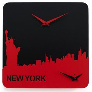 TIME TRAVEL WALL CLOCK - New York