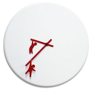 TIME2PLAY CLOCK - White & Red