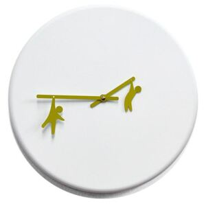 TIME2PLAY CLOCK - White & Green