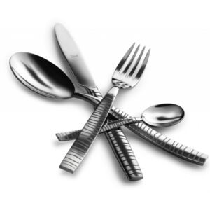 TIGRE CUTLERY SET 24 - Polished stainless steel