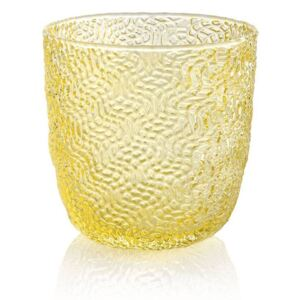 TRICOT SET OF 6 WATER GLASSES - Yellow