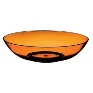 UNO POLYCARBONATE DEEP PLATE SET - Amber