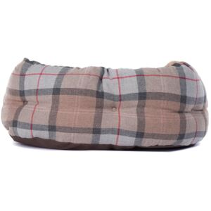 Barbour Luxury Dog Bed Taupe/Pink 24 Inch
