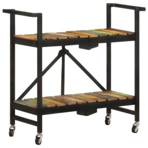 Kitchen Trolley 87x36x81 cm Solid Reclaimed Wood