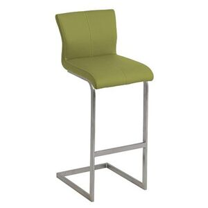Ideas Bar Stool with Cantilever Base - Green