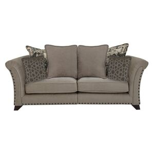 Holly 2 Seater Fabric Pillow Back Sofa With Studs