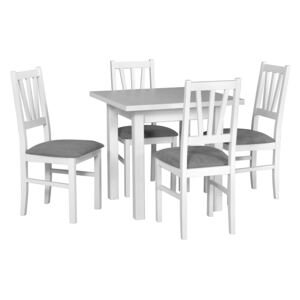FURNITOP Dining Set DX3 - Table MAX 7 + Chairs BOS 5 ( 4pcs.)