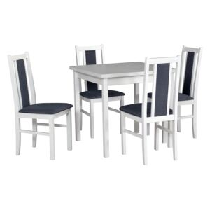 FURNITOP Dining Set DX7 - Table MAX 9 + Chairs BOS 14 ( 4pcs.)
