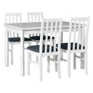 FURNITOP Dining Set DX6 - Table MAX 5P + Chairs BOS 10 ( 4pcs.)