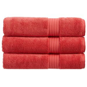 Christy Supreme Hygro-Towel Selection Coral Guest Towel