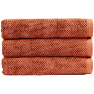 Christy Brixton Towels Terracotta Hand
