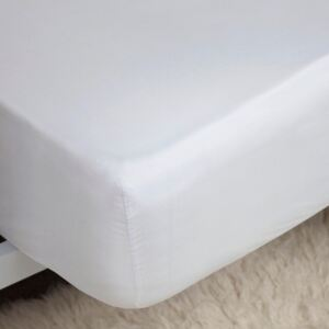 Belledorm Extra Deep Fitted Sheet White Double
