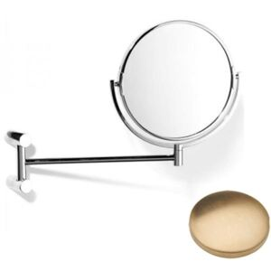 Samuel Heath Xenon Pivotal Mirror Plain / Magnifying L5118 Brushed Gold Unlacquered