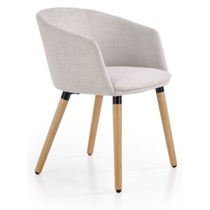 FURNITOP Upholstered chair K266 light grey