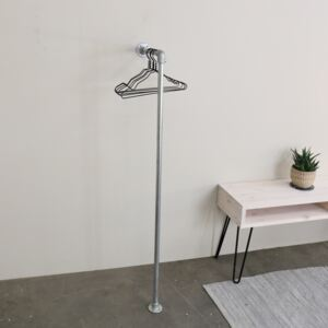 ZIITO RHL - Wall mounted L-shaped clothes rail
