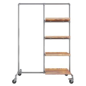 ZIITO WA - clothes rail with shelves