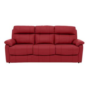 Relax Station Komodo 3 Seater Leather Sofa with Power Headrests and Cup Holders- World of Leather