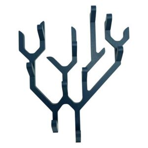 Ambroise Wall coat rack - / Limited Christmas 2020 edition by Hartô Blue