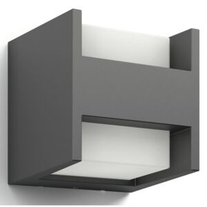 Philips myGarden LED Wall Light Arbour 2x4.5 W Anthracite 164599316