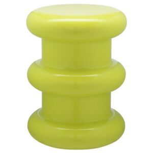 Pilastro Stool - H 46 x Ø 35 cm - By Ettore Sottsass by Kartell Green