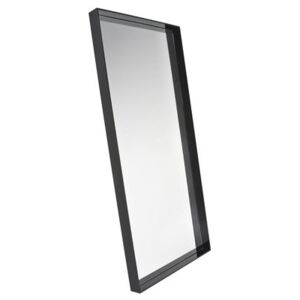 Only me Wall mirror - / L 80 x H 180 cm by Kartell Black