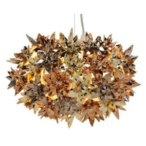 Bloom Bouquet Pendant by Kartell Gold/Copper/Metal