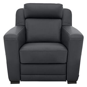 Nicoletti - Matera Leather Armchair with Box Arms