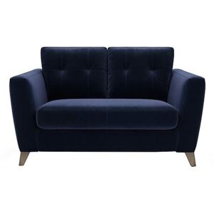 The Lounge Co. - Hermione 2 Seater Fabric Sofa - Blue
