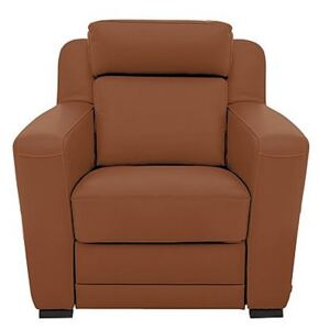 Nicoletti - Matera Leather Armchair with Box Arms - Brown
