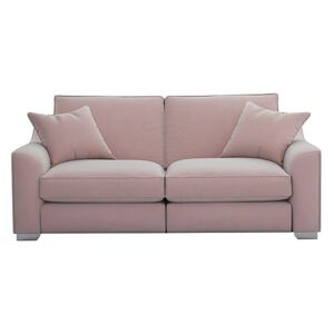The Lounge Co. - Isobel 3 Seater Fabric Sofa - Pink