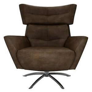 The Lounge Co. - Hermione Jacob Leather Armchair - Brown