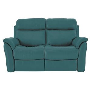 Relax Station Revive 2 Seater Leather Sofa - Blue- World of Leather