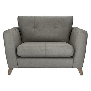 The Lounge Co. - Hermione Leather Snuggler - Grey