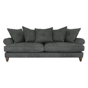 The Lounge Co. - Bronwyn 4 Seater Fabric Scatter Back Sofa - Grey