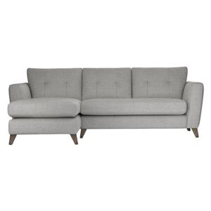 The Lounge Co. - Hermione Fabric Corner Sofa with Chaise End