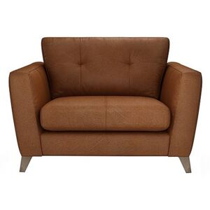 The Lounge Co. - Hermione Leather Snuggler - Brown