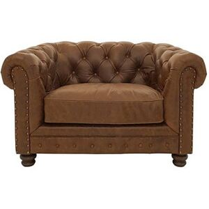 Alexander and James - Camden Collection Brixton Leather Armchair - Brown